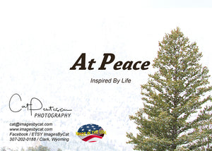 Greeting Card - BE AT PEACE