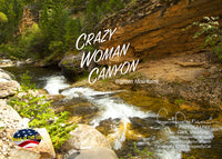 Crazy Woman Canyon - Greeting Card