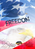 FREEDOM - Greeting Card
