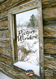 PICTURE WINDOW - Greeting Card