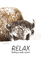 RELAX - Greeting Card