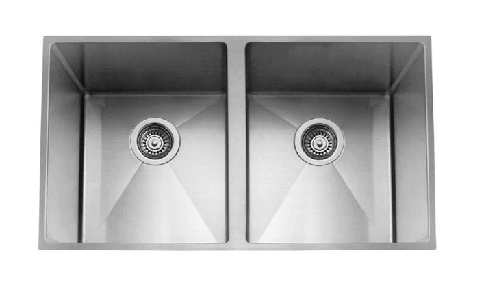 Two Bowl Undermount Sink