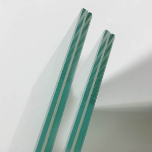 Clear laminated glass 6.38mm