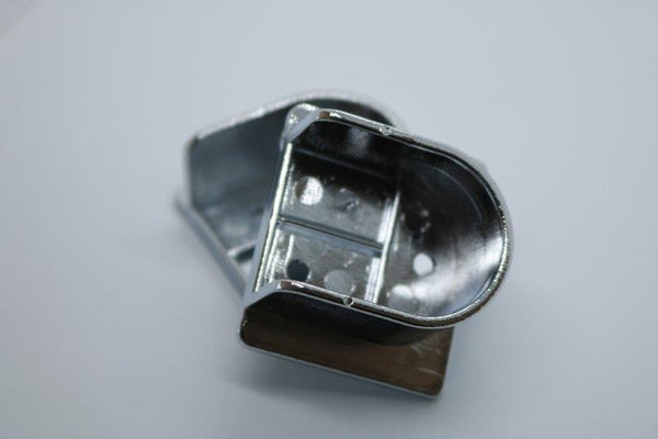 Silver End Flange 25mm - Imperial Glass and Timber