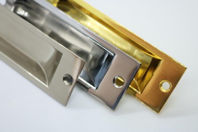 Flush Pull Handle 32mm - Imperial Glass and Timber