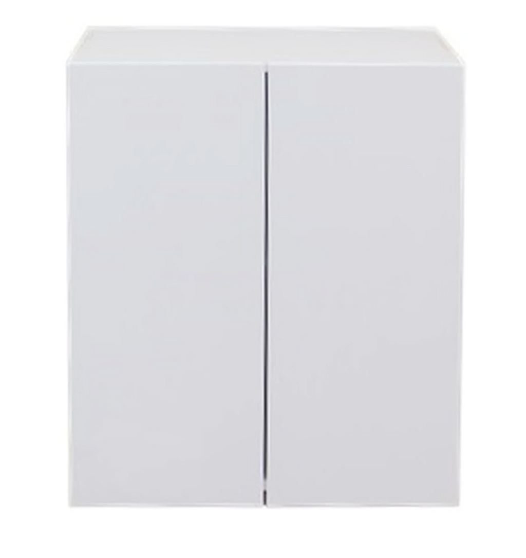 Wall Cabinet - Double Door 600mm - Imperial Glass and Timber