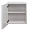 Wall Cabinet - Single Door 500mm - Imperial Glass and Timber