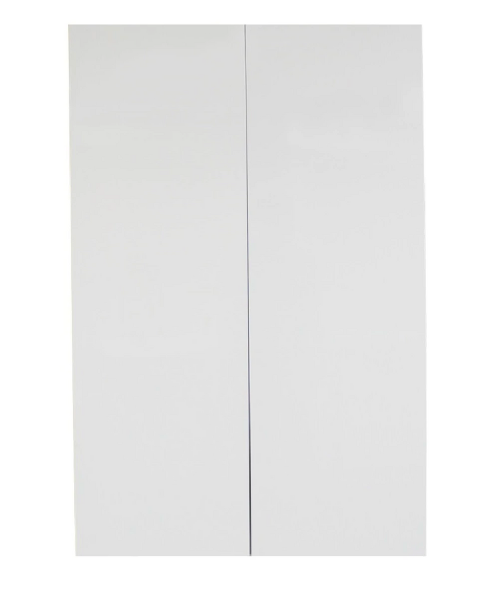 Pantry Cabinet - Double Door 600mm - Imperial Glass and Timber