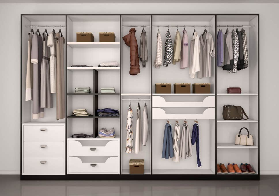Standard Builtin Wardrobe -Custom made - Imperial Glass and Timber