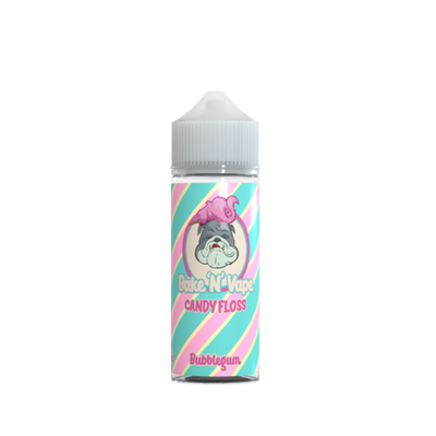 Bake 'N' Vape Bubblegum Candy Floss 100ml Shortfill Eliquid
