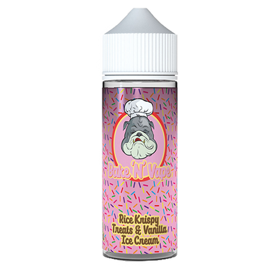 Bake 'N' Vape Rice Krispy Treats and Vanilla Ice Cream 100ml Shortfill Eliquid