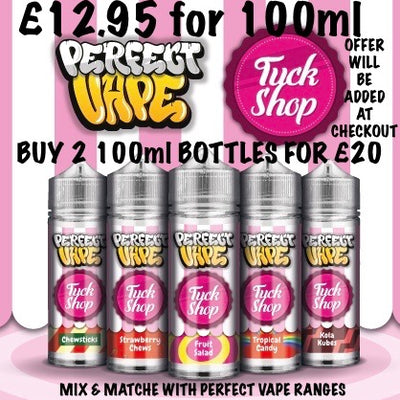 PERFECT VAPE - TUCK SHOP 100ml