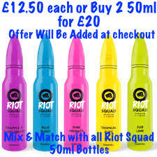 Riot Squad Short Fill 50ml