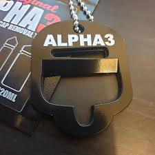 Alpha3 bottle popper