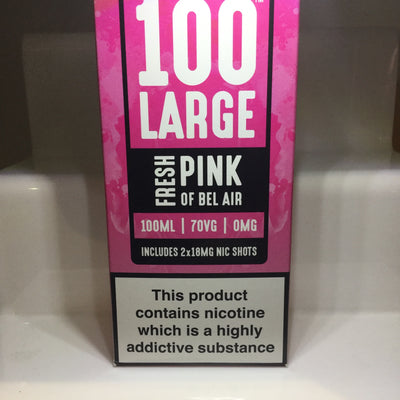 100 Large - Fresh Pink of Bel Air