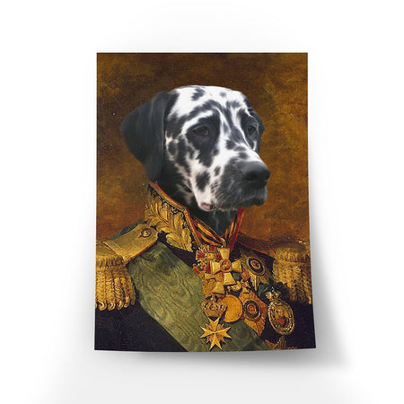 De Kolonel - Poster | Artimal - Huisdier in Uniform (4633640697949)