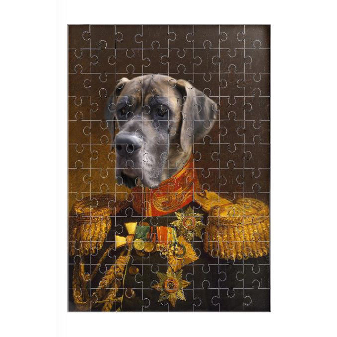 De Veteraan - Legpuzzel | Artimal - Huisdier in Uniform