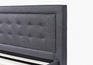 Bed Frame with Headboard Headboard Close-up