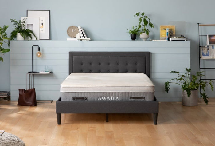 Frame with headboard lifestyle