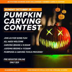 Pumpkin Carving Contest Pre-Registration