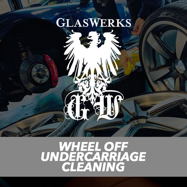 Wheel Off Undercarriage Cleaning