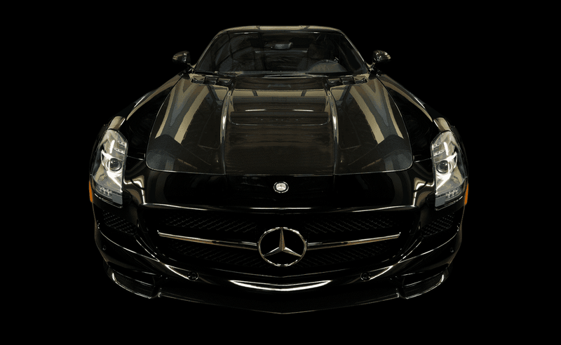 Mercedes-Benz SLS AMG GT Final Edition Coupe 2014-2015 Scrape Armor