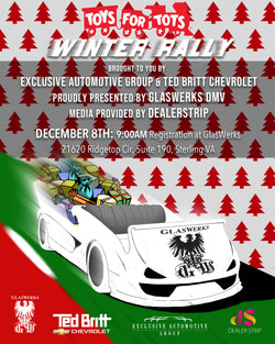 Toys for Tots Winter Rally Tickets