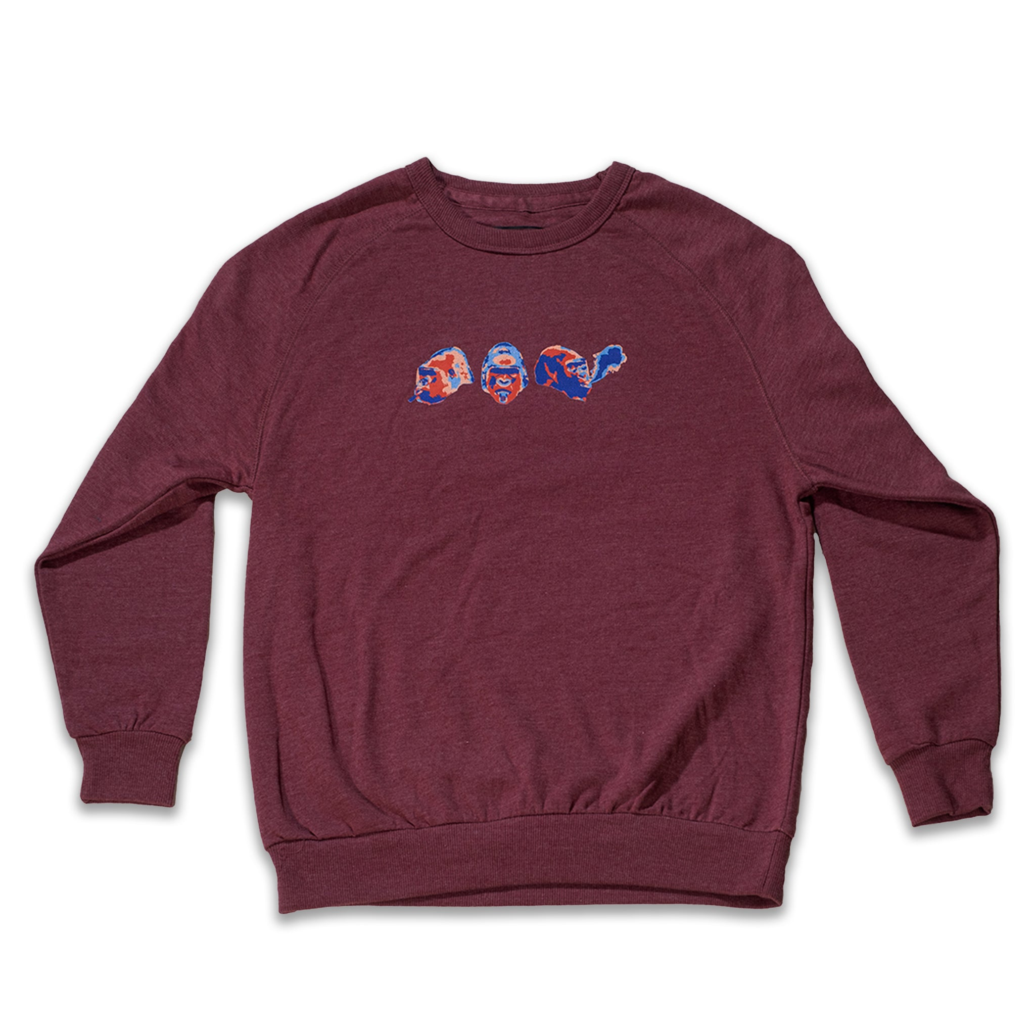 Stoned Ape Crew Sweater - Berry