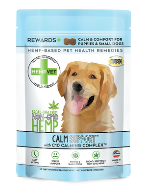 CALM SUPPORT REWARDS+ 38mg CBD with C10 Calming Complex™