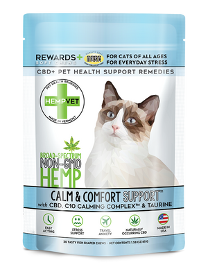 CALM SUPPORT for Cats with C10 Colostrum & Taurine