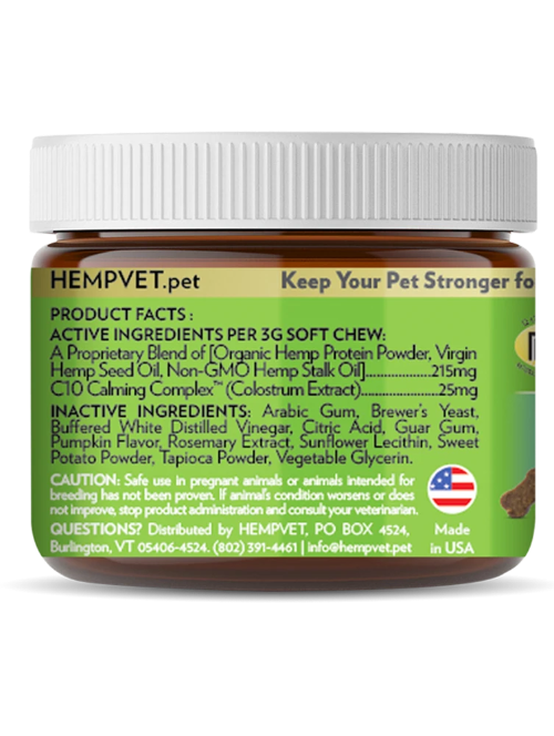 HEMPCALM with CBD + C10 Calming Complex™