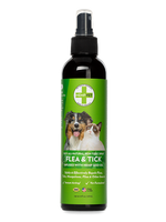 FLEA & TICK SPRAY with Infused Hemp Oil (8oz)