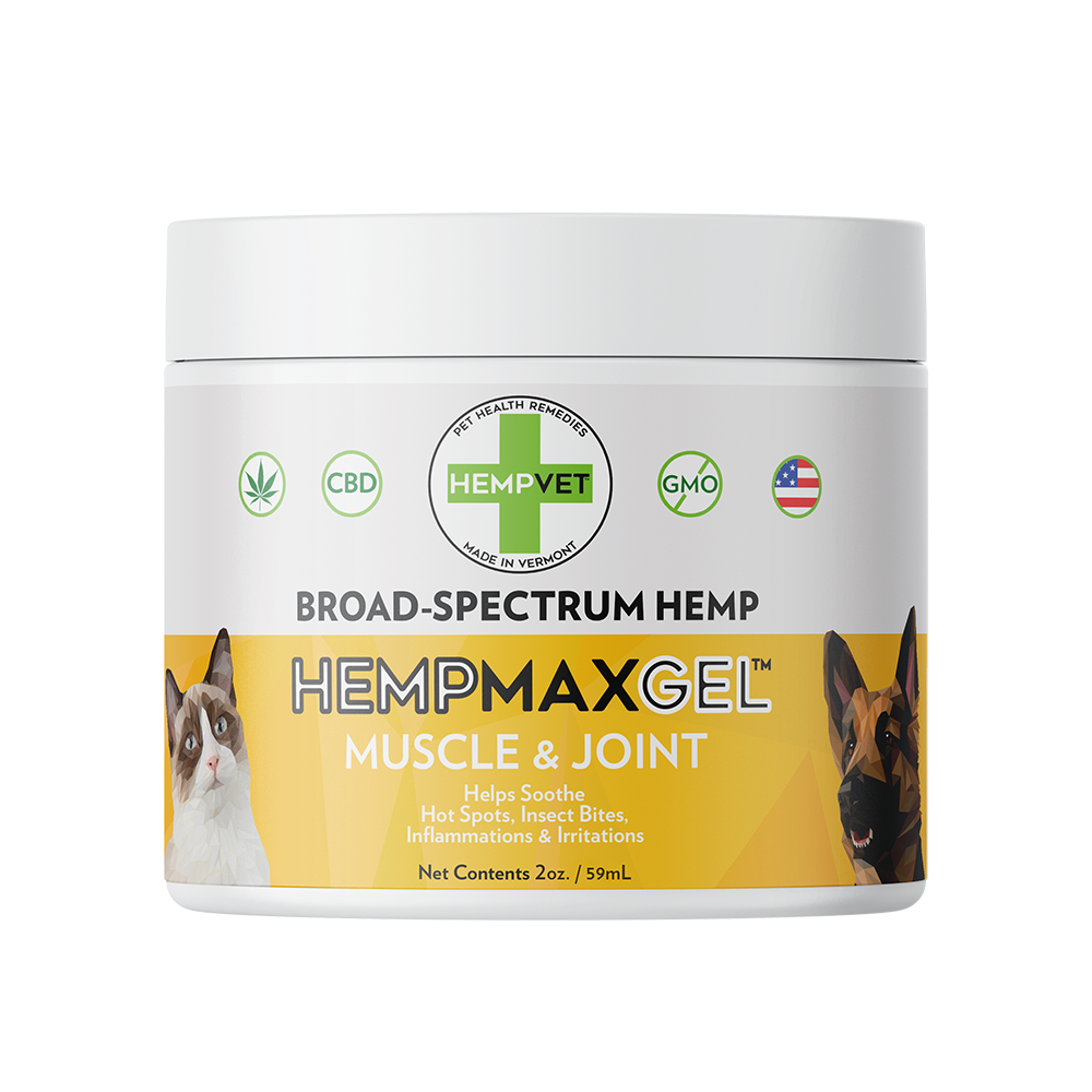 HEMPMAX GEL Muscle & Joint with 125mg CBD (2 oz)