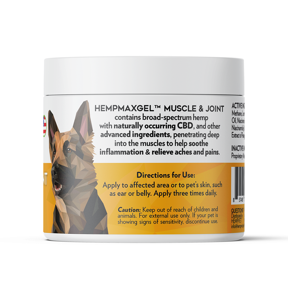 HEMPMAX GEL Muscle & Joint (4 oz)
