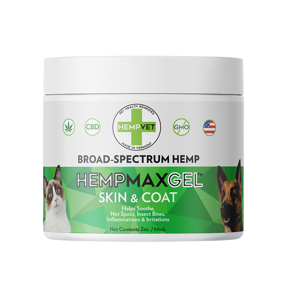 HEMPMAX GEL Skin & Coat (2 oz)