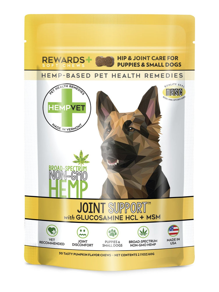 JOINT SUPPORT REWARDS+ with 38mg CBD, Glucosamine HCL + MSM
