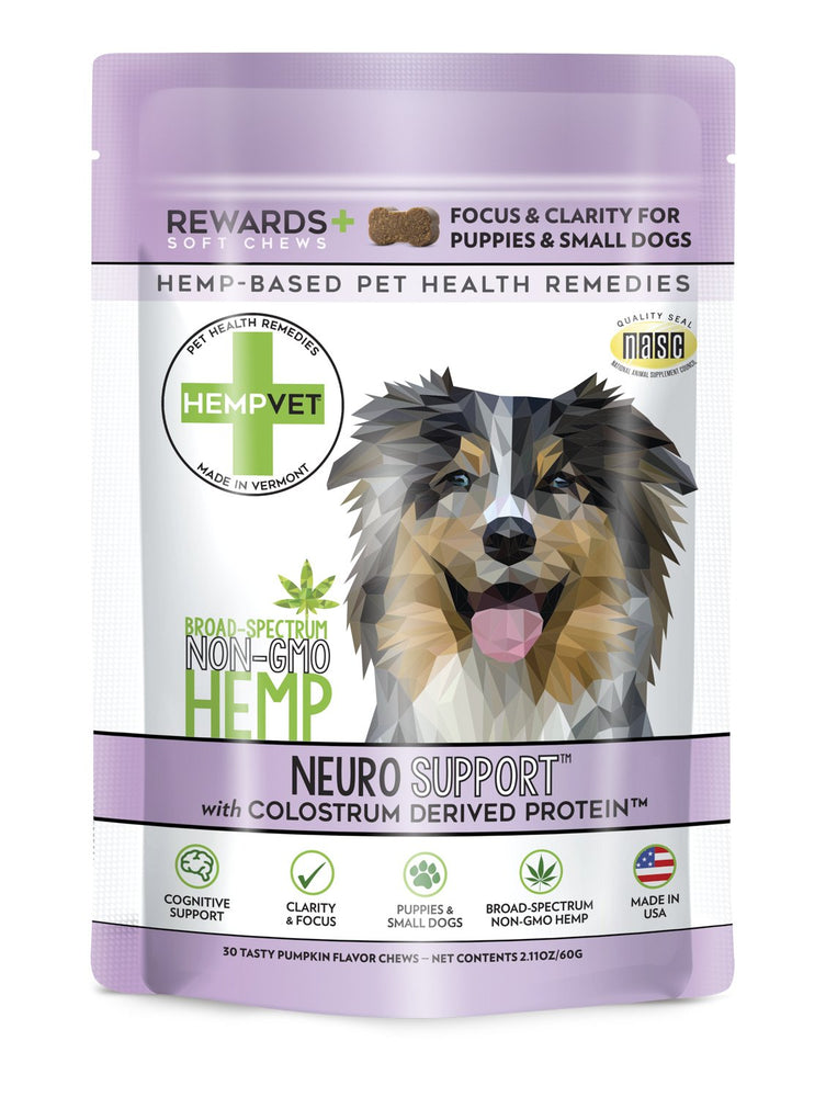 NEURO SUPPORT REWARDS+ with 38mg CBD, Colostrum Derived Protein™