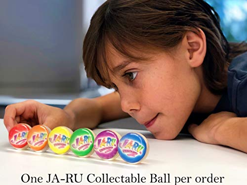 JA-RU Foam Squish Emoji Ball (Pack of 12) and 1 Bouncy Ball Bundle Item #976-12p