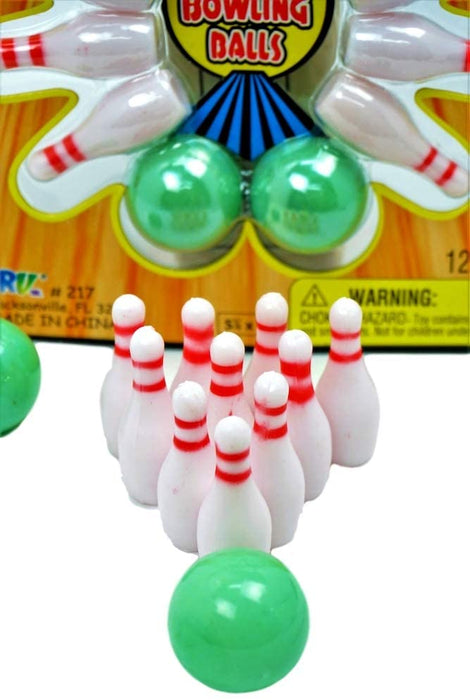 Finger Bowling Game Portable Pocket Board Games Mini (Pack of 1) by JARU. Assortment of Classic Toys Party Favors Toy| Item #217-1A