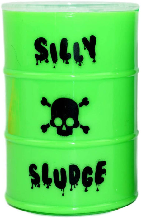 Large Slime in a Barrel Silly Sludge (6 Units Assorted) | Oil Barrel Slime Party Favors for Kids Toy Game. Stress Relief Toy. Pinata Filler. Decoration Toys in Bulk for Kids and Adults | 5438-6p