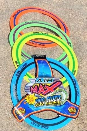 "JA-RU Flying Ring Frisbee Disc 11.2"" (72 Units Master Case) Outdoors Ultimate Sports Pro Beach Toys Flying Discs for Kids & Adult. Safe, Soft & Professional. Plus 1 Bouncy Ball. 1029-72p"