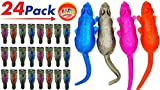 JA-RU Giant Stretchy Sticky Snake by (Pack of 6) Item #430