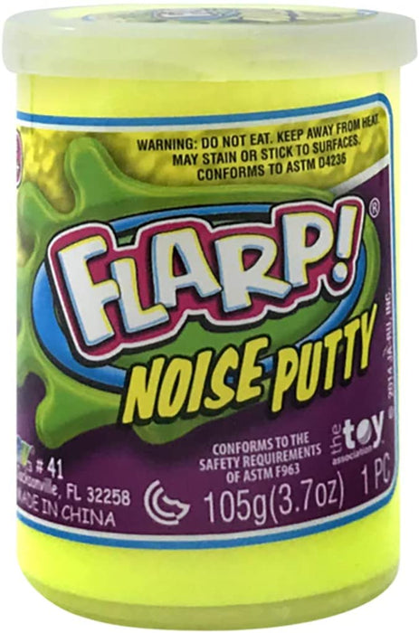 JA-RU Flarp Noise Putty (Pack of 3 Units) by JA-RUplus 1 Bouncy Ball Squish to Make Gas Sounds | Item #10041-3p