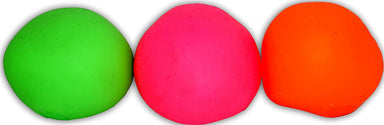 JA-RU Stretchy Ball (Pack of 2) and Bouncy Ball Set Soft Bounce Stress Ball Pull and Stretch | Item #401-2p