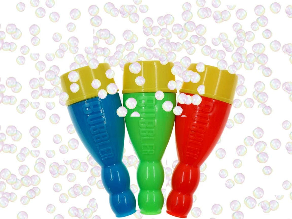 JA-RU Grab a Bubble Storm Touchable Bubbles Blowing Toy (6 Pack) I Hundred of Touching Bubbles Soap Solution Toy Favors I Party Favor Pinata Filler in Bulk 1508-6p