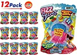 JA-RU Fizzy Bomb Fizz Secret Ball with Surprise Inside, Individually Packed (Pack of ) and 1 Bouncy Ball from Magic Grow. Pack of 24 | Item #5505-