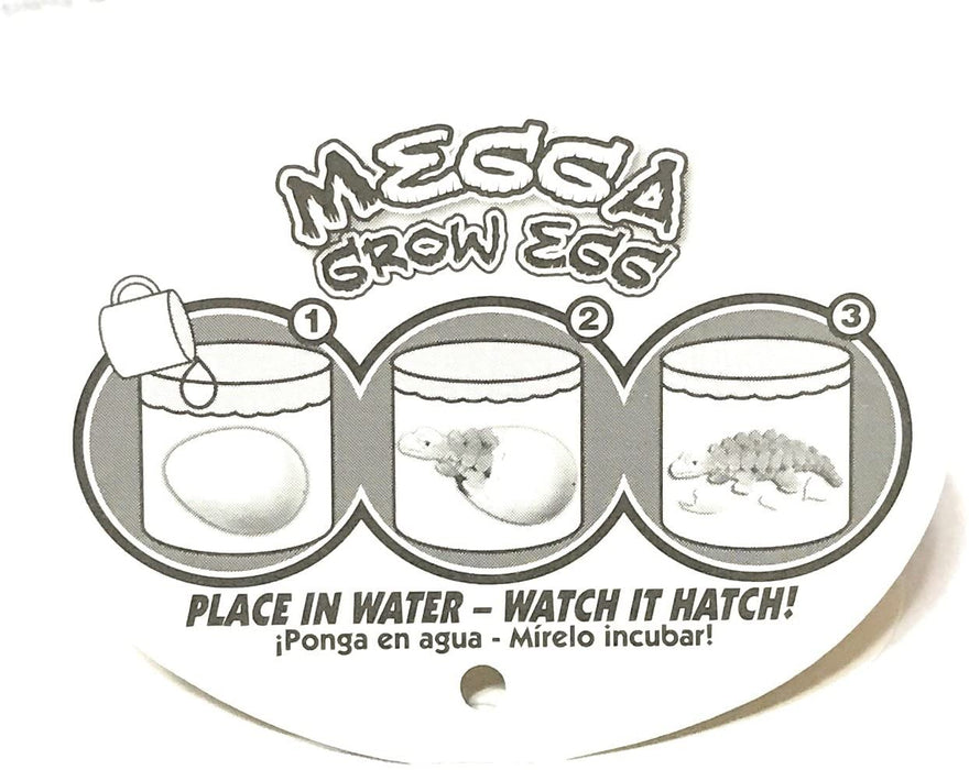 Dino World Megga Grow Egg Set of 2