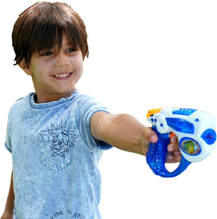 JA-RU Power Shot Water Gun (24 Guns) Aqua Blast | Item #258-12