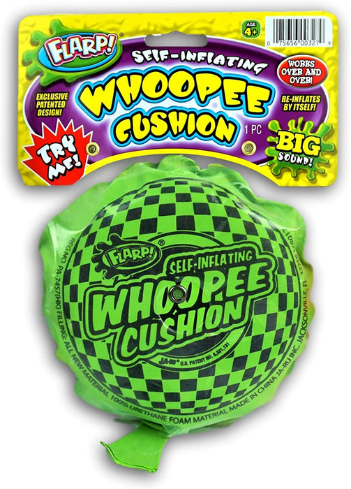 JA-RU Whoopee Cushion Flarp Original Classic Prank Toy (Pack of 1) Gag & Prank Whoopie Toys for Kids and Adult. Farrt Toy Makes Gas Sounds Noise #1373