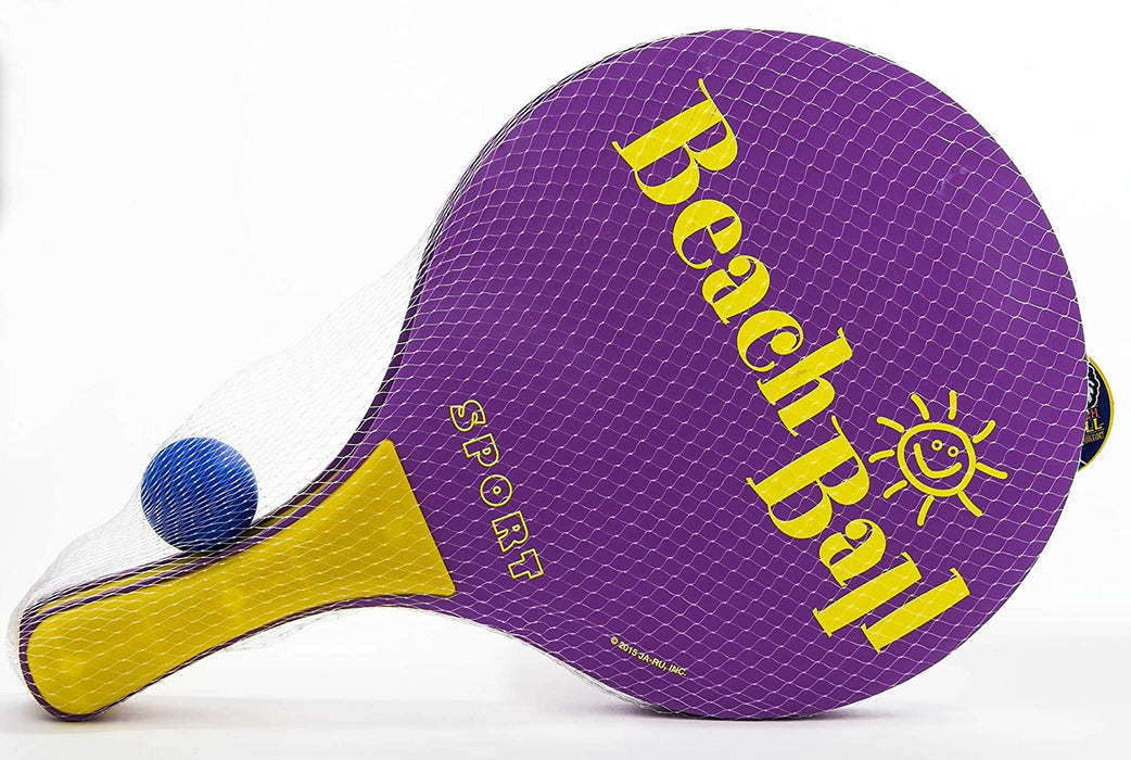 JA-RU Beach Paddle Ball Set (Pack of 6 Pairs) Item #4810-6